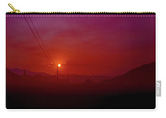Mojave Sunrise Carry-all Pouch