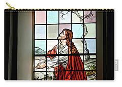 Mokuaikaua Church Stained Glass Window Carry-all Pouch