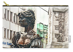 Carry-all Pouch featuring the photograph Molly Malone by Hanny Heim