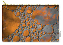 Molten Copper Puddles Abstract Carry-all Pouch