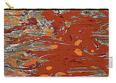Molten Earth Carry-all Pouch