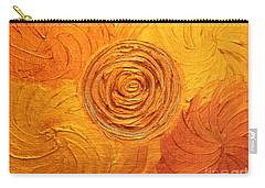 Molten Spiral Carry-all Pouch by Rachel Hannah