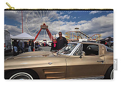 Mom N Vette Carry-all Pouch by Robert McCubbin