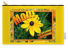 Carry-all Pouch featuring the digital art Mom You Are Loved And Appreciated by Sonya Nancy Capling-Bacle