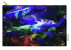 Moment In Blue Lazy River Carry-all Pouch by Cedric Hampton
