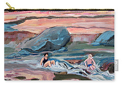 Momma At Slide Rock Park Arizona Carry-all Pouch