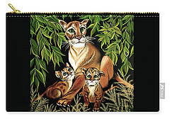 Momma's Pride And Joy Carry-all Pouch by Adele Moscaritolo