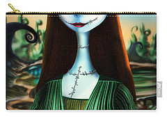 Mona Lisa Carry-all Pouch by Alessandro Della Pietra