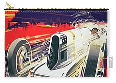 Monaco Grand Prix 1930 Carry-all Pouch by Taylan Apukovska