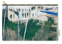 Carry-all Pouch featuring the photograph Monaco Reflection by Keith Armstrong