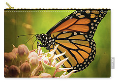 Monarch At Rancho San Rafael Carry-all Pouch by Janis Knight
