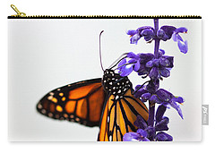 Monarch Butterfly Carry-all Pouch by Ana V Ramirez
