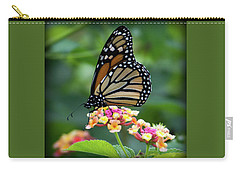 Monarch Butterfly Art II Carry-all Pouch