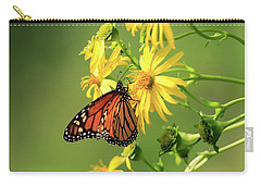 Carry-all Pouch featuring the photograph Monarch Butterfly by Gary Hall