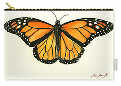 Monarch Butterfly Carry-All Pouches