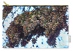 Monarch Butterfly Migration Carry-all Pouch