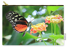 Monarch On Flower Carry-all Pouch
