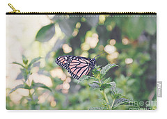 Monarch On Mint Carry-all Pouch