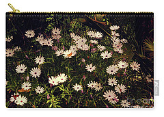 Carry-all Pouch featuring the photograph Monarchs And Daisies by Cassandra Buckley