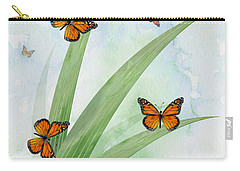 Monarchs Carry-all Pouch