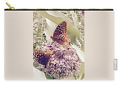 Monarch's On Milkweed Carry-all Pouch