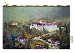 Monastery In Mountain Carry-all Pouch