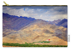 Carry-all Pouch featuring the photograph Monastery In The Mountains by Alexey Stiop