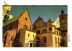 Monastery In The Wachock/poland Carry-all Pouch