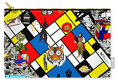 Mondrian Nightmare Carry-all Pouch