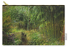 Monets Paradise Carry-all Pouch by John Rivera