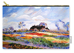 Monet's Tulips Carry-all Pouch
