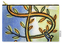 Carry-all Pouch featuring the painting Money Tree by Leon Zernitsky