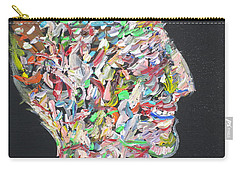Carry-all Pouch featuring the painting Money,sex And Power by Fabrizio Cassetta