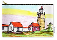 Monhegan Island Light Carry-all Pouch