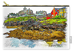 Monhegan West Shore Carry-all Pouch by Tom Cameron