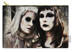 Monique And Ryli 1 Carry-all Pouch by Mark Baranowski