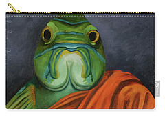 Monk Fish Carry-all Pouch by Leah Saulnier The Painting Maniac