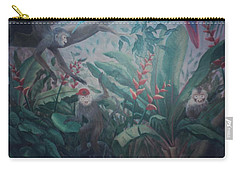 Monkees In The Jungle Carry-all Pouch