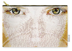 Monkey Glows Carry-all Pouch by Catherine Lott