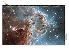 Carry-all Pouch featuring the photograph Monkey Head Nebula by Marco Oliveira