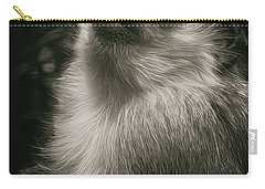 Monkey Portrait Carry-all Pouch