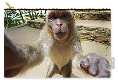 Monkey Taking A Selfie Carry-all Pouch