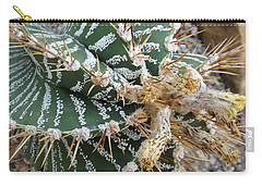 Monk's Hood Cactus Carry-all Pouch