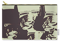 Monochromatic Antique Cameras And Photos Carry-all Pouch