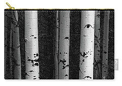 Carry-all Pouch featuring the photograph Monochrome Wilderness Wonders by James BO Insogna