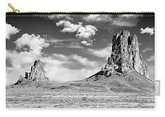 Carry-all Pouch featuring the photograph Monoliths by Jon Glaser