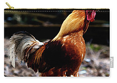 Monsieur Coq  Carry-all Pouch