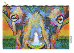 Monsieur Goat Carry-all Pouch