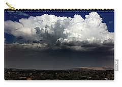 Carry-all Pouch featuring the photograph Monsoon by Chris Tarpening