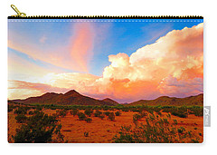 Monsoon Storm Sunset Carry-all Pouch